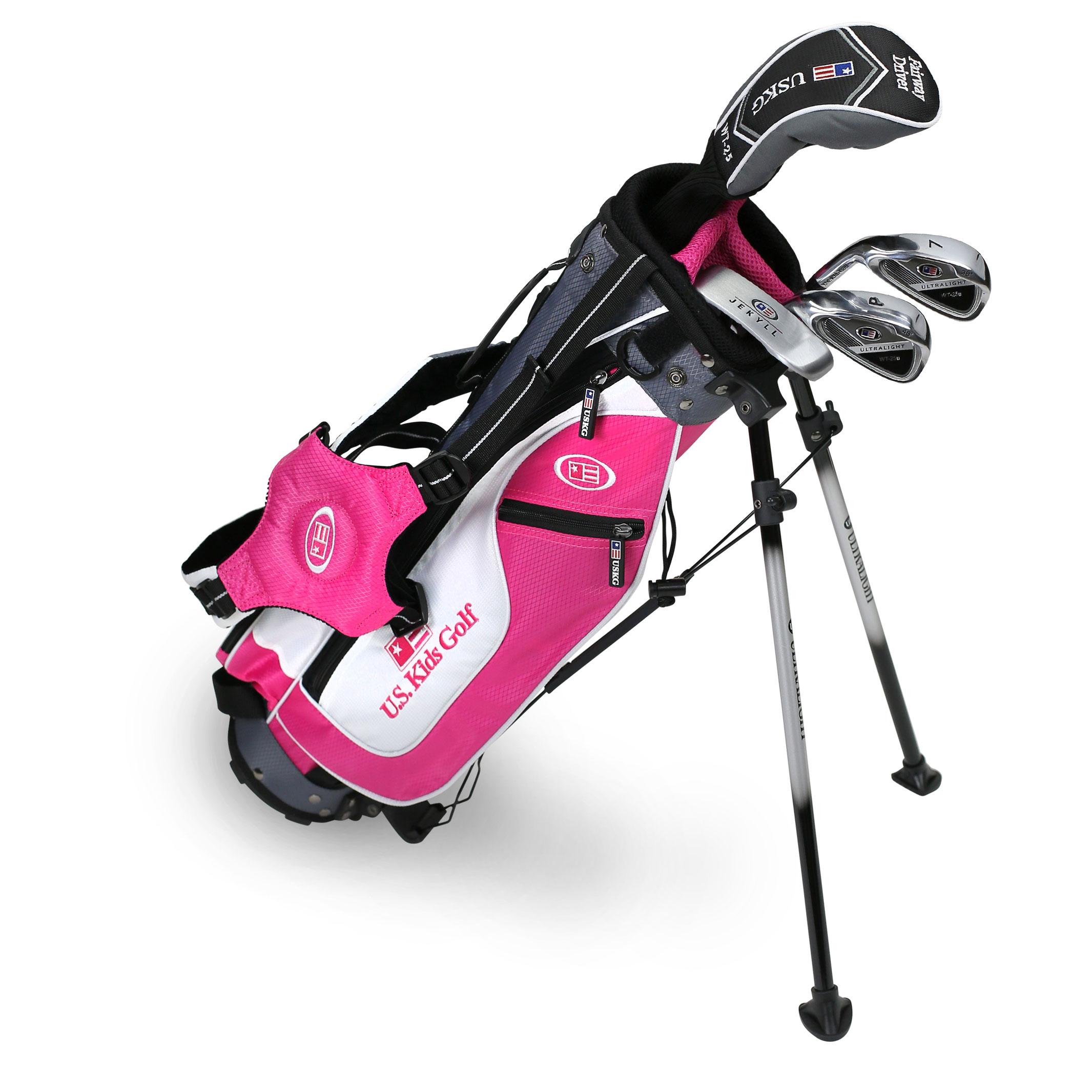 Intech Lancer Junior Golf Club Set LH Orange